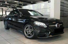 Mercedes-Benz C 220d Cabrio AMG line int/ext 194 CV (2019) 47.500€
